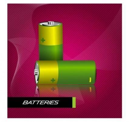 free vector Battery Vector