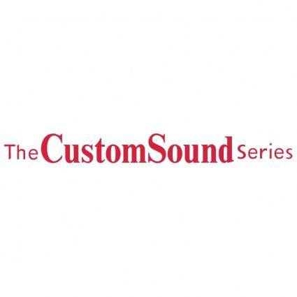 Customsound series