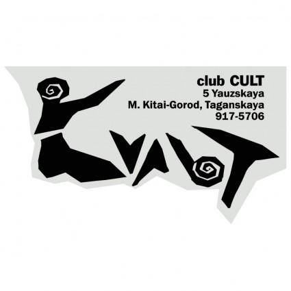 free vector Cult club