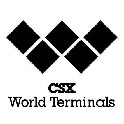 free vector Csx world terminals