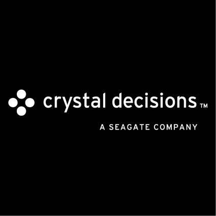 Crystal decisions 0