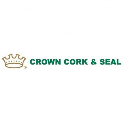 free vector Crown cork seal