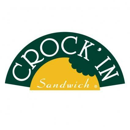 Crock in sandwich