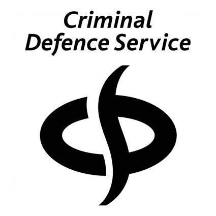 free vector Criminal defence service