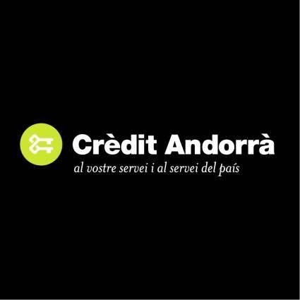 Credit andorra