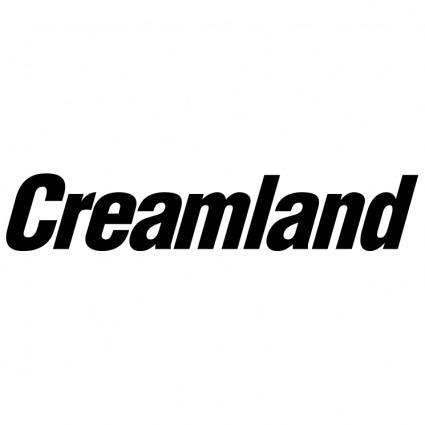 free vector Creamland