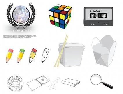 free vector Rpm vector collection