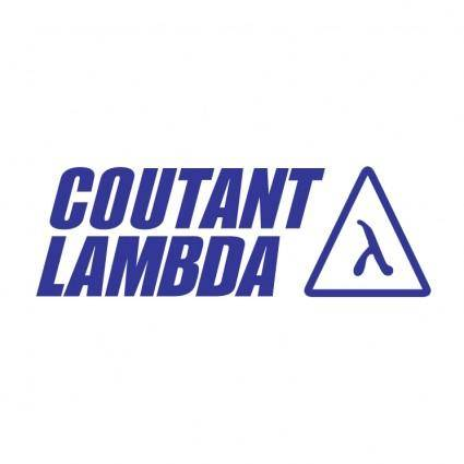 free vector Coutant lambda