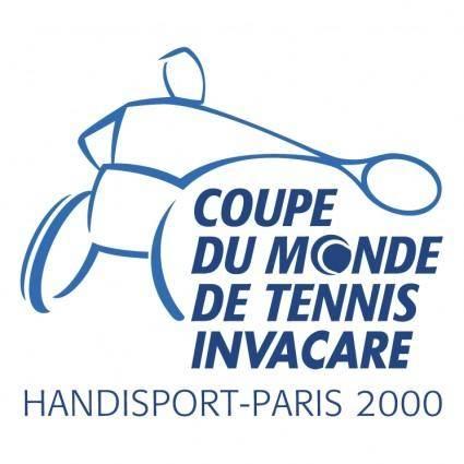 free vector Coupe du monde de tennis invacare