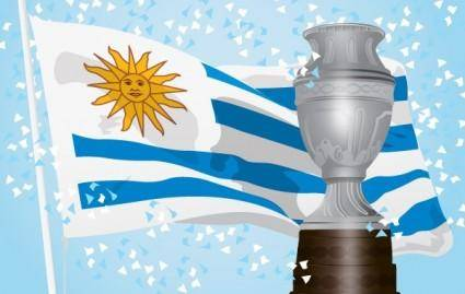 free vector Uruguay Champion of America