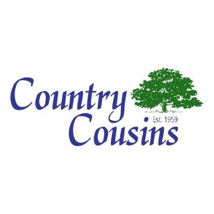 free vector Country cousins