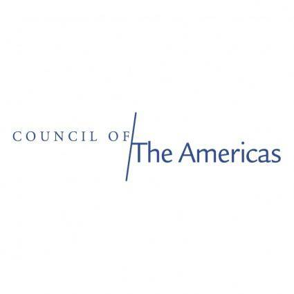 free vector Council of the americas