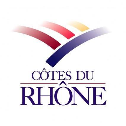 free vector Cotes du rhone