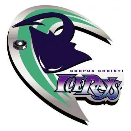free vector Corpus christi ice rays