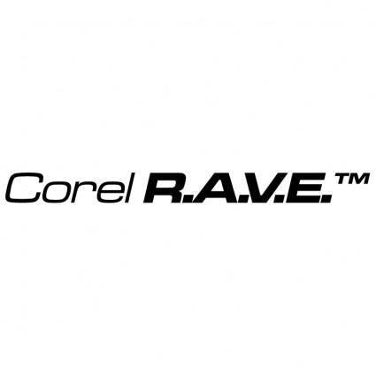 free vector Corel rave