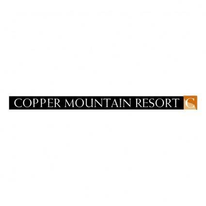 free vector Copper mountain resort