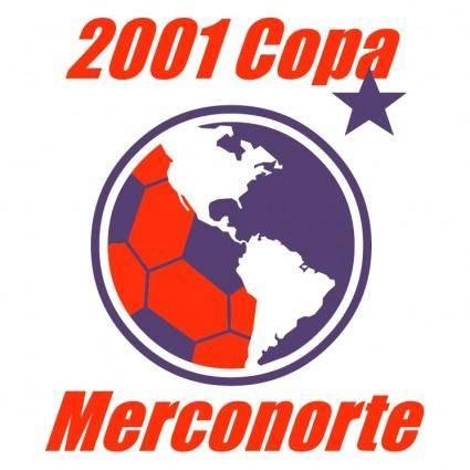 free vector Copa merconorte 2001