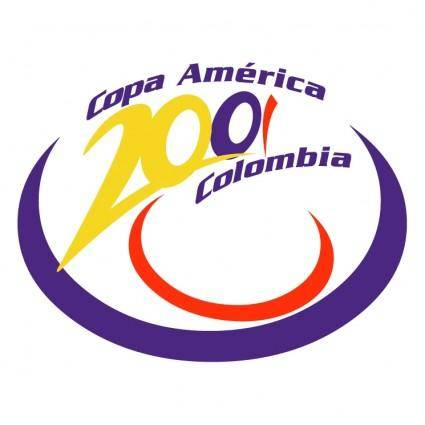 free vector Copa america colombia 2001