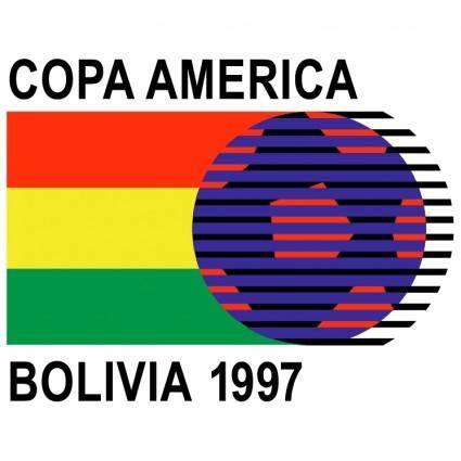 free vector Copa america bolivia 1997
