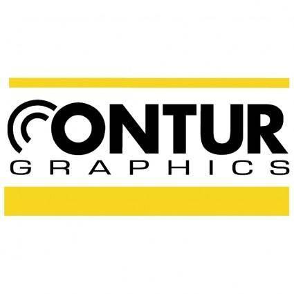 free vector Contur graphics