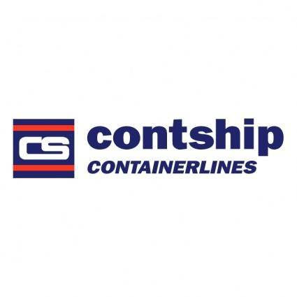 free vector Contship containerlines 0