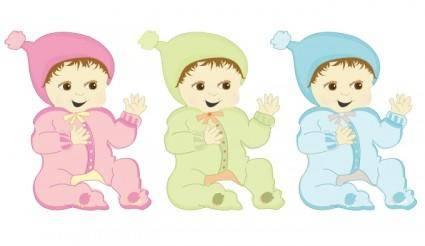 free vector Gurgle Baby Vectors