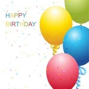 free vector Vector Birthday Template
