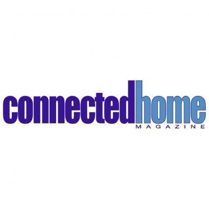 free vector Connected home magazine
