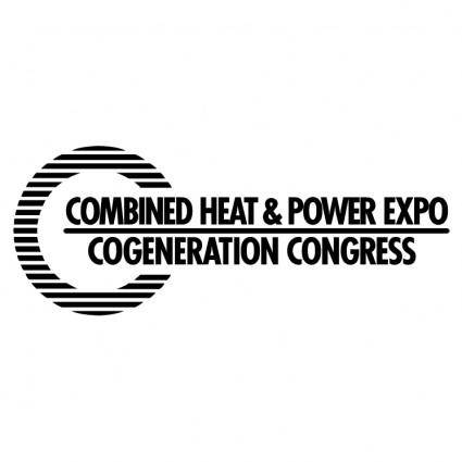 free vector Combined heat power expo