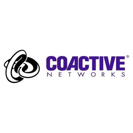 free vector Coactive networks
