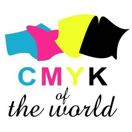 free vector Cmyk of the world