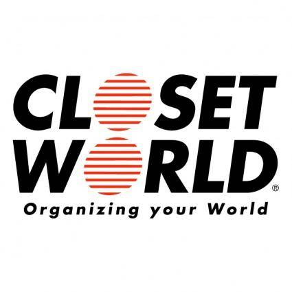 free vector Closet world