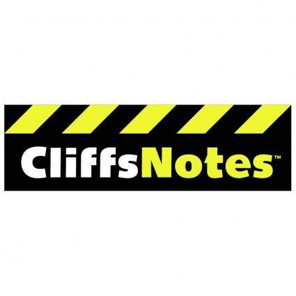 free vector Cliffsnotes