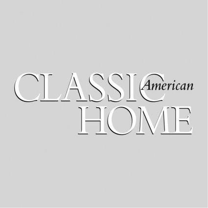 free vector Classic american home
