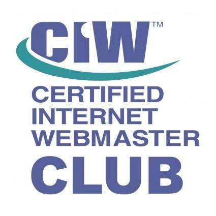 free vector Ciw club