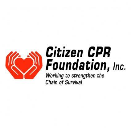 free vector Citizen cpr foundation