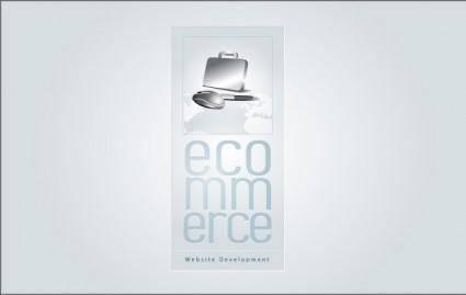 free vector E-commerce Badge