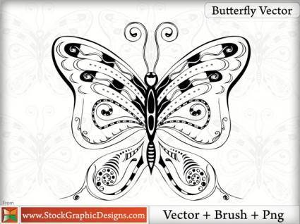 Butterfly Vector 8641