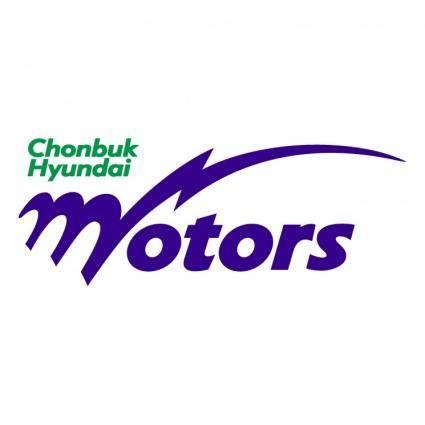 free vector Chon buk hyundai motors