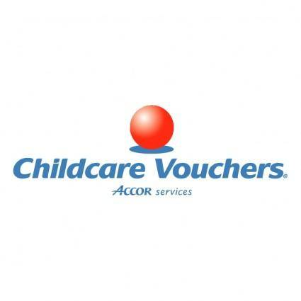 free vector Childcare vouchers