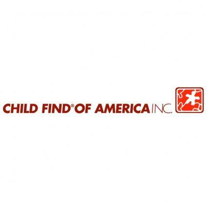 free vector Child find of america
