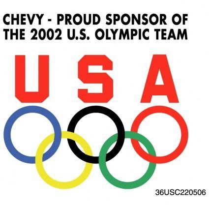 Chevy sponsor of olympic team 0