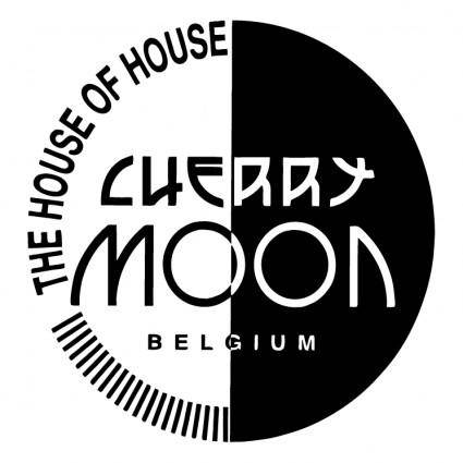 free vector Cherry moon