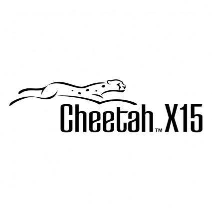 free vector Cheetah x15