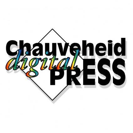 free vector Chauveheid digital press