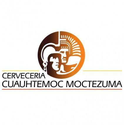 free vector Cerveceria cuauhtemoc moctezuma