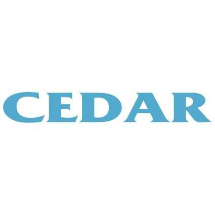 free vector Cedar