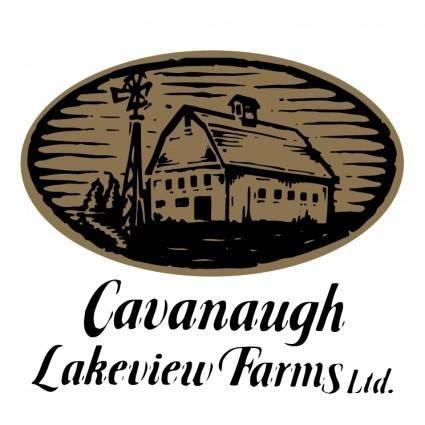 free vector Cavanaugh lakeview farms