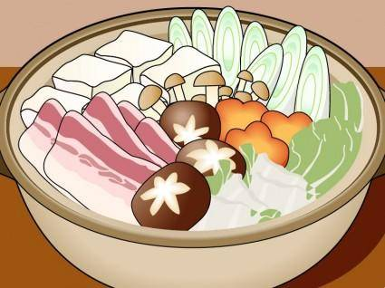 """free vector Japanese """"Nabe"""" Vector"""
