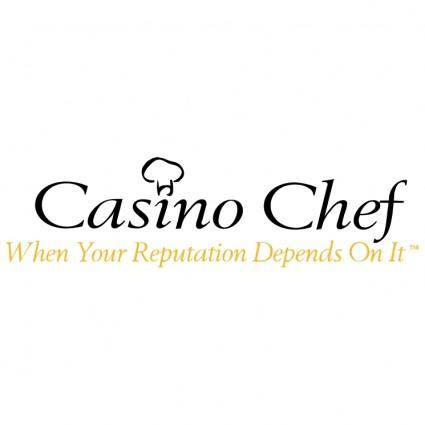 free vector Casino chef